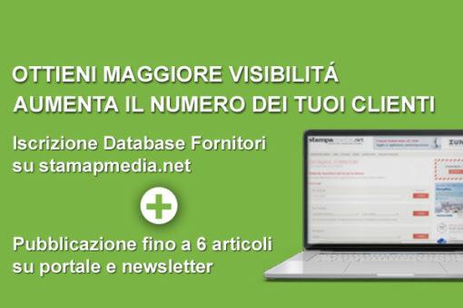 Iscrizione Database Fornitori